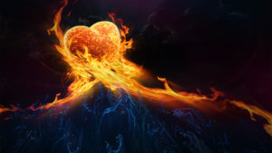 A-heart-in-flames-and-many-hands_1366x768